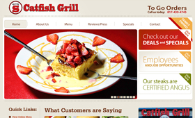 SEO & Web Development for Circle S Catfish Grill
